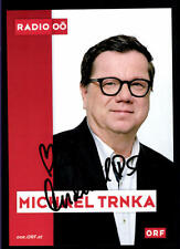 Michael Trnka ORF Autogrammkarte Original Signiert ## BC 55139