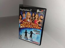 Disney Dance dance Revolution Playstation 2 PS2 Complete & Tested USA NTSC P41