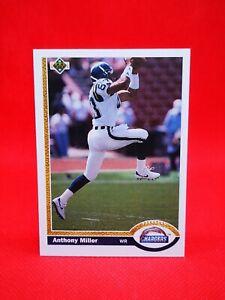 Upper Deck 1991 carte card football NFL NM+/M San Diego #126 Anthony Miller