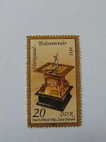 DDR Kostbare Sand- und Sonnenuhren 20 Pfennig(.) 1983 Plattenfehler Mi 2798 II