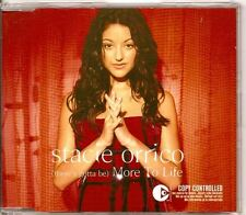 STACIE ORRICO there´s gotta be More To Life DUTCH CD EP
