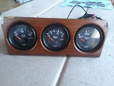 90 1990 AUDI COUPE QUATTRO 2.3 ADDITIONAL INSTRUMENT CLUSTER W/ GAUGES VDO RARE