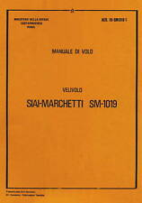 SIAI-MARCHETTI SM-1019 /MANUALE DI VOLO AER 1U-SM1019-1