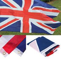 Great Britain United Kingdom Union Jack Flag UK England British Banner 5x3FT*