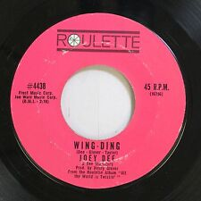 Rock 45 Joey Dee - Wing-Ding / What Kind Of Love Is This On Roulette