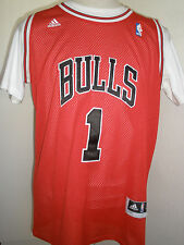 ADIDASS  NBA CHICAGO BULLS  ROSE  # 1 JERSEY  SIZE 50  VERY NICE