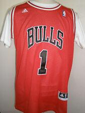 ADIDASS  NBA CHICAGO BULLS  ROSE  # 1 JERSEY  SIZE 50  VERY NICE