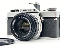 [Exc+5] OLYMPUS OM-1 SLR Camera w/ Zuiko MC Auto-S 50mm F1.8 Lens from JAPAN