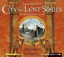 CASSANDRA CLARE - CITY OF LOST SOULS  CD NEU