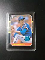 1987 Donruss  Greg Maddux Rated Rookie #36