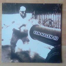 """VAN HALEN  -Promotional 12"""" x 12"""" Card (Flat) Van Halen III (ideal for framing)"""