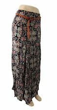 Women's Maxi Skirt | Bohemian Pattern in Blues and Peach Colours