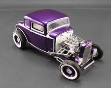 ACME 1932 FORD 5 WINDOW VINTAGE COUPE DEUCE RELEASE 4 PURPLE 1:18 GMP A1805009