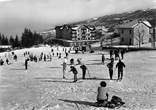 4500) CALDIROLA (ALESSANDRIA) GRANDE ALBERGO LA GIOIA, NEVE, SCIATORI, VG 1964.
