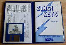 Zing! Keys de Meridian logiciel-Productivity software for the Amiga