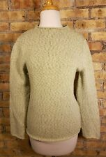 Margaret O'Leary Cashmere Mock Neck Light Green Sweater S