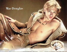 PUBLICITE ADVERTISING 056  2003    Mac Douglas pantalon cuir et veste homme