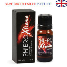 Phiero XTREME - Highly Concentrated Pheromones 20%!!! - FOR MAN - 10ml DROPS
