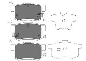 Disc Brake Pad Set-Premium Ceramic Pads Rear Dash 4 Brake CFD365