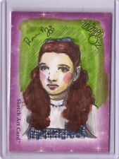 Breygent The Wizard of Oz Dorothy color sketch Renae De Liz autograph auto card