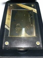 STAR WARS TRILOGY 24KT GOLD COLLECTIBLE 1997 PRINCESS LEIA COMMEMORATIVE CARD