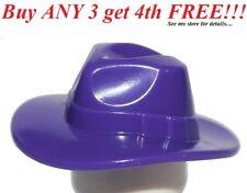 ☀️NEW Lego Boy/Girl Minifig Hat Dark Purple Fedora Brick Daddy Space Police