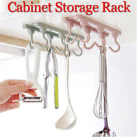 Kitchen Storage Rack Cupboard Hanging Hook Wall Hanger Utensils Holders Home