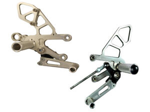 APRILIA 2011-2016 RSV4 WOODCRAFT RACING REARSETS / FOOTPEG KIT - REVERSE SHIFT