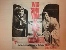 Wir sind vom Gerd Knabe und Peppi Kausch Kabaret - Zeitberichter(Album) Original