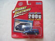 Johnny Lightning Strike Blue 2006 Chevy HHR Chevrolet Dealer Exclusive New Cars