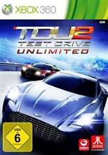 Xbox 360 Test Drive Unlimited 2 alemán usado como nuevo
