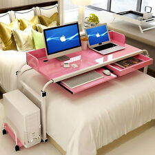 Mobile Home Furniture Office Computer Desk Workstation Over Bed Writing Table