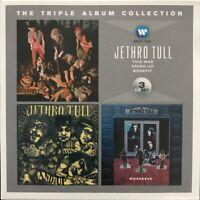 JETHRO TULL THE TRIPLE ALBUM COLLECTION 3-CD SET WARNER MUSIC 2014 NR MINT