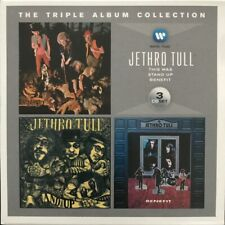 JETHRO TULL THE TRIPLE ALBUM COLLECTION 3-CD SET WARNER MUSIC 2014 NR MINT
