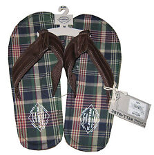 St. Johns Bay Designer Flip Flops - Men's M (9-10)  -  New with tags, MSRP $26