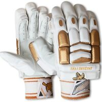 SFC Players Gold Edition Cricket Batting Gloves ** RIGHT HAND   PITTARD PALM **