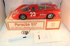 Philips VE 2002 Porsche 917 remote control car near mint in box SCARCE SELTEN