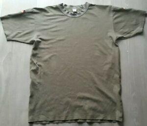 Original Bundeswehr T-shirt Größe 8/46 Tropen BW Afghanistan ISAF German Army XL
