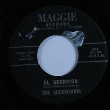 Instrumental Surf Exotica Tittyshaker 45 SHERWOODS El Scorpion MAGGIE HEAR