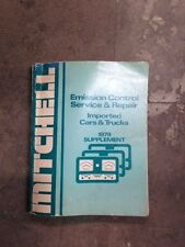 Mitchell Engine Control Service & Repair Supplement Imported Cars & Trucks 1979