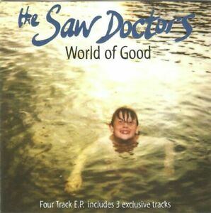 The Saw Doctors - World of Good (4 Track EP 1996) CD