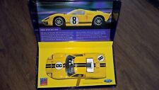 SCALEXTRIC C2683A FORD GT40 MK II YELLOW  NO 8 - Limited Edition