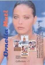 Ornella Muti Collection 1 with English Subtitles. Collezione Ornella Muti 1