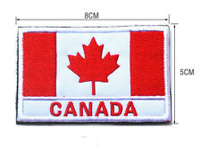 Canada LOGO Patches ARMY MORALE TACTICAL  BADGE HOOK & LOOP PATCH  SH+768