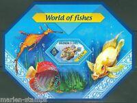 SOLOMON ISLANDS  2014 WORLD OF FISHES  SOUVENIR SHEET  MINT NH