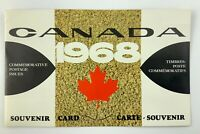 1968 Commemorative Postage Issues Souvenir Card MNG Completed Philatetic 022B