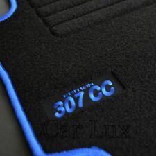 Alfombras a medida para PEUGEOT 307CC desde 2003-2009 EDITION Velour azul