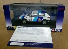CORGI VA13601 VW GOLF GTI 16 V Mk2 James shead 1988 Dunlop Ltd Ed N. 0003 del 1000