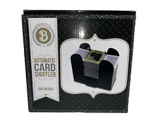 New Listing6 Deck Automatic Card Shuffler Casino Battery Operated Standard Size Cards *Read