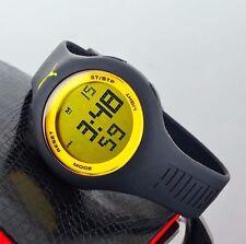 Puma PU910801007  Loop Two Tone Yellow&Black Watch